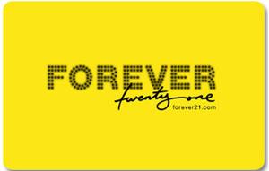 carte cadeau forever 21
