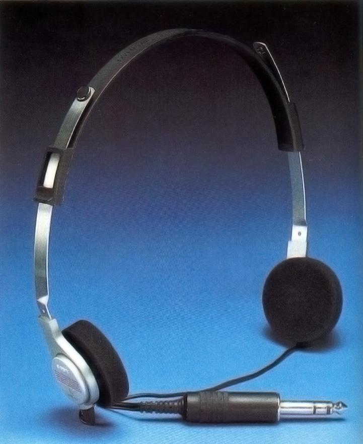 casque audio année 80