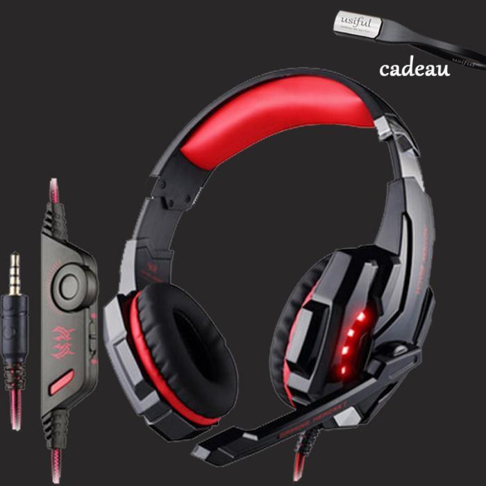 casque audio gamer 7.1