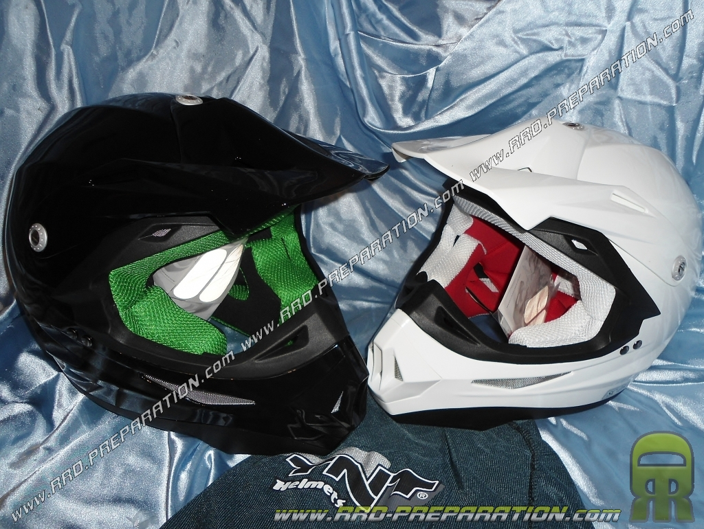 casque cross helmet