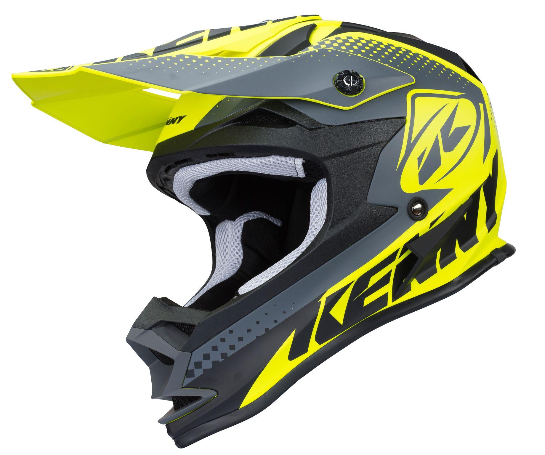 casque de moto cross enfant