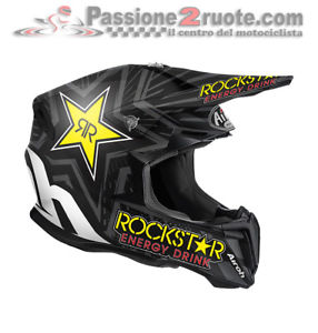 casque de moto cross rockstar