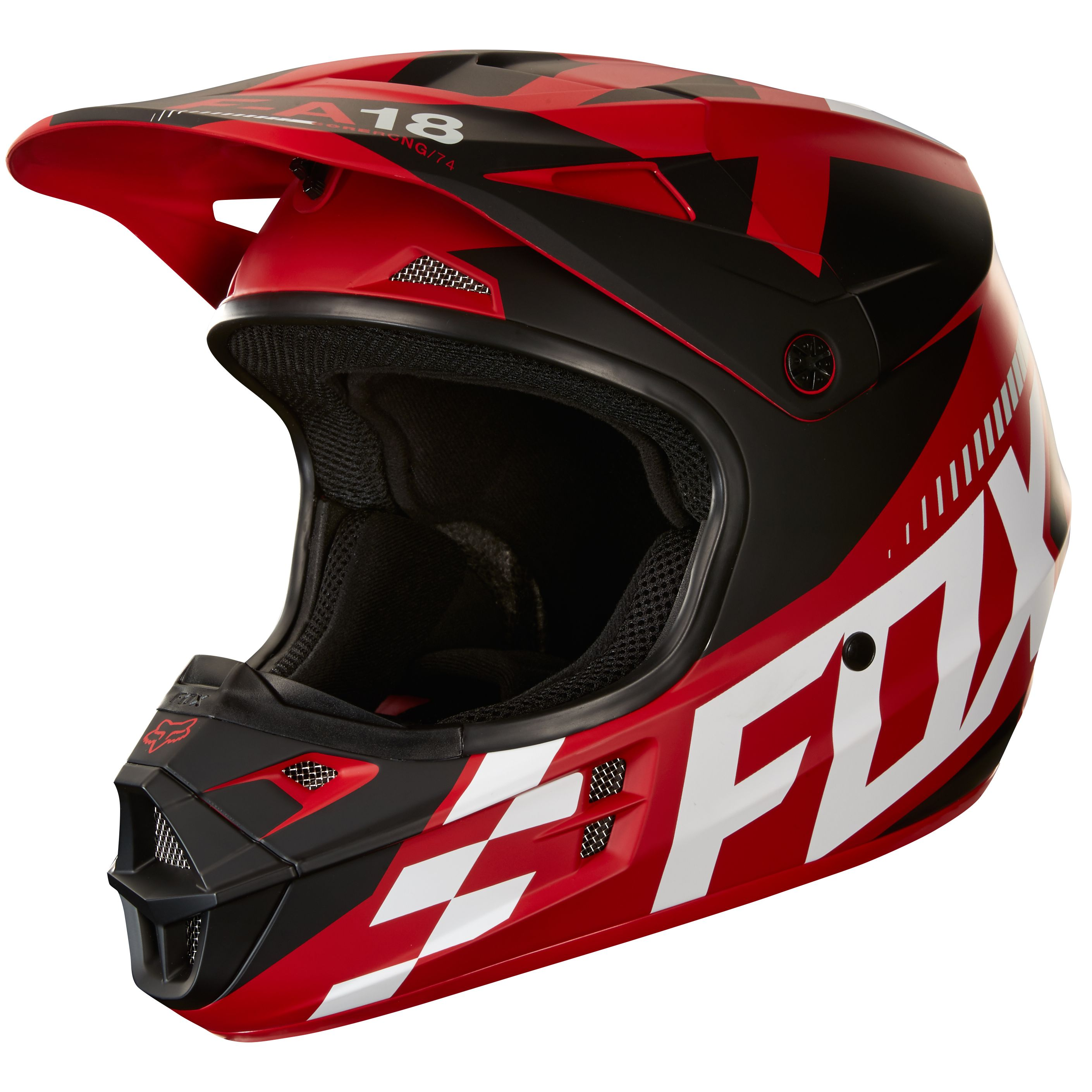casque enduro fox