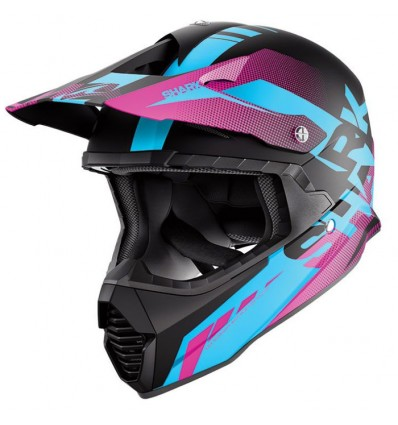 casque moto cross fille