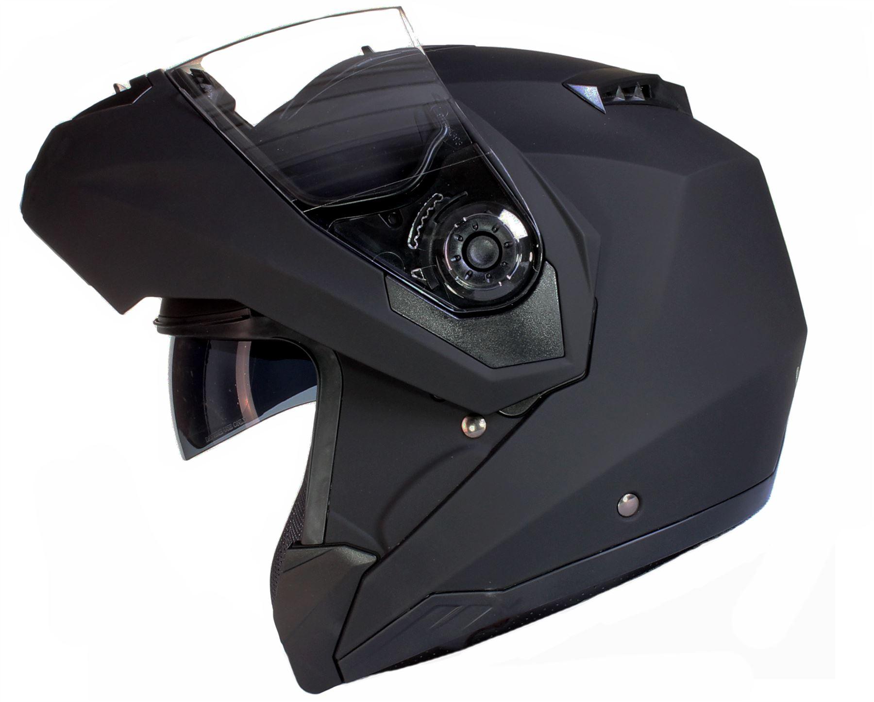casque moto double visière