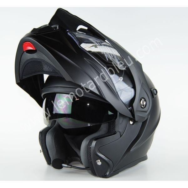 casque moto modulable bluetooth intégré