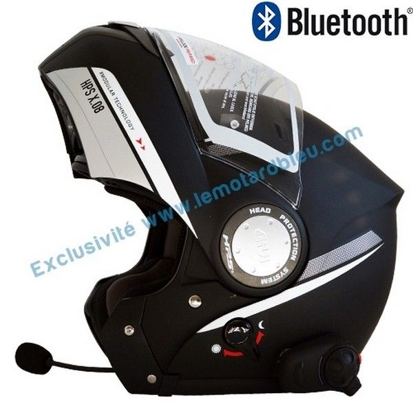 casque moto modulable bluetooth