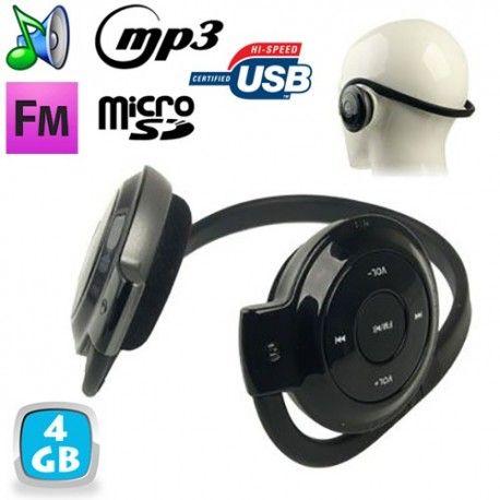 casque sans fil radio fm