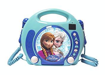 cd boombox reine des neiges