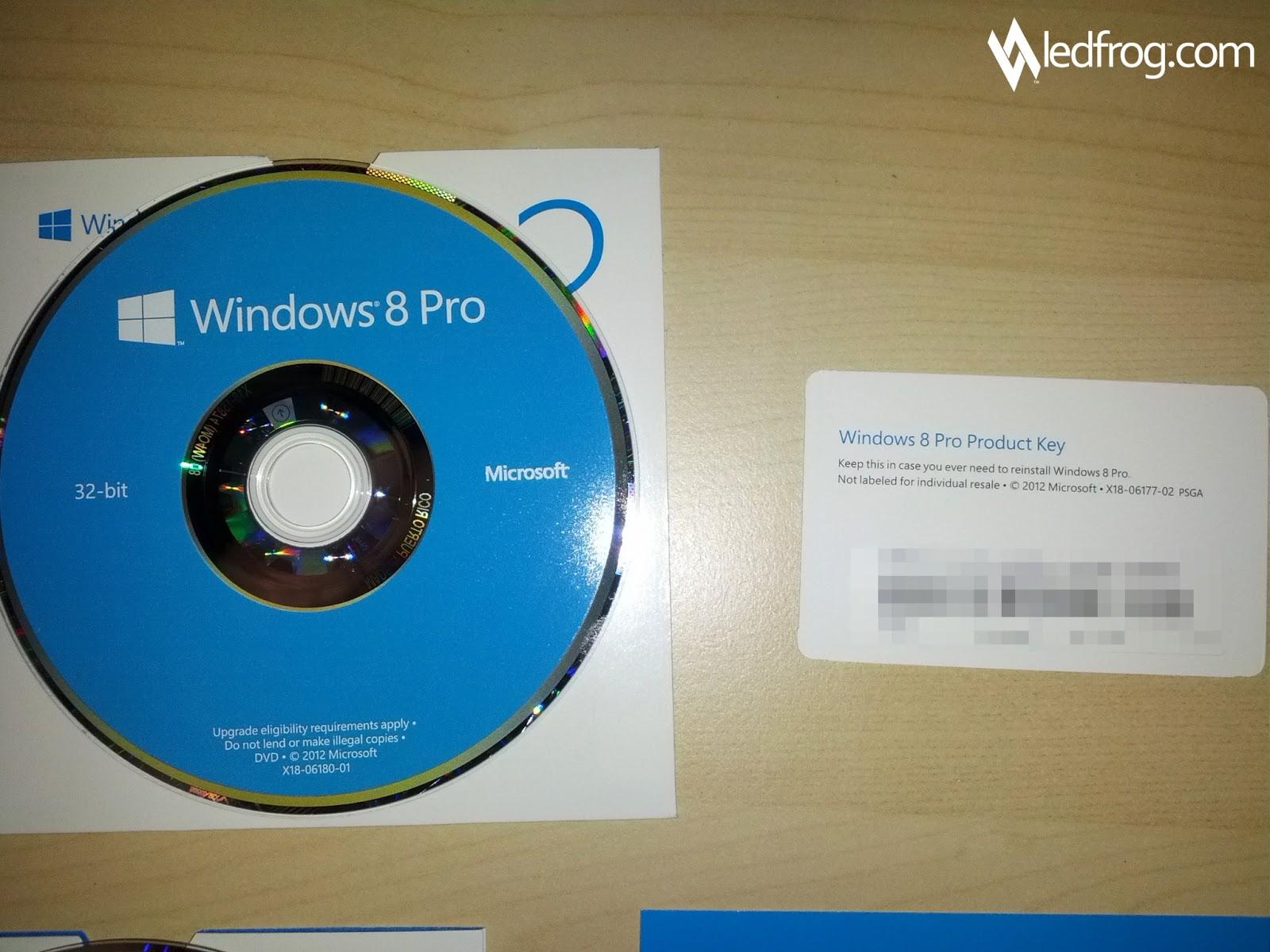 cd d installation windows 8