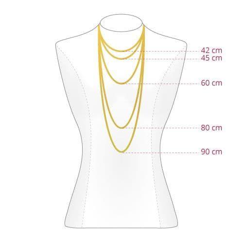 chaine 55 cm