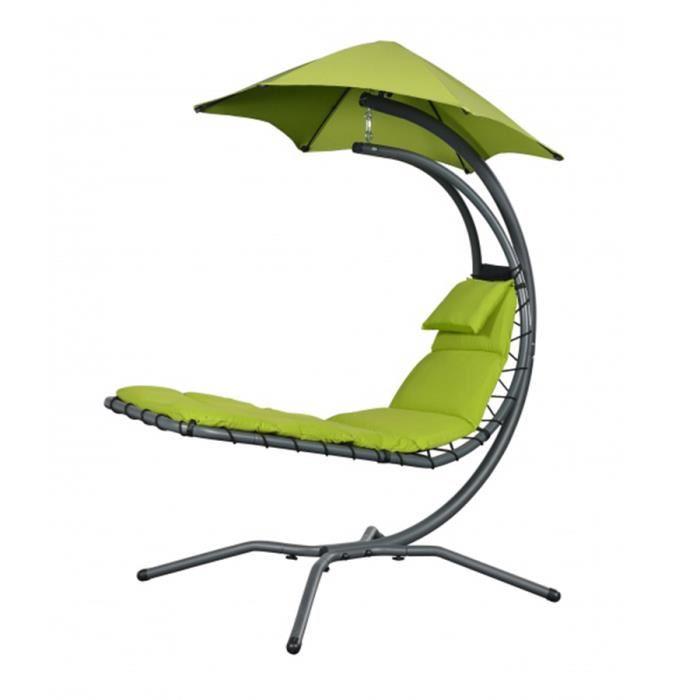 chaise longue suspendu