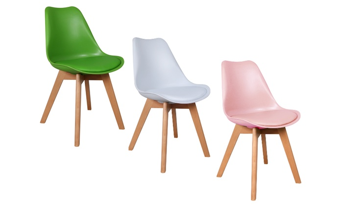 chaise scandinave couleur