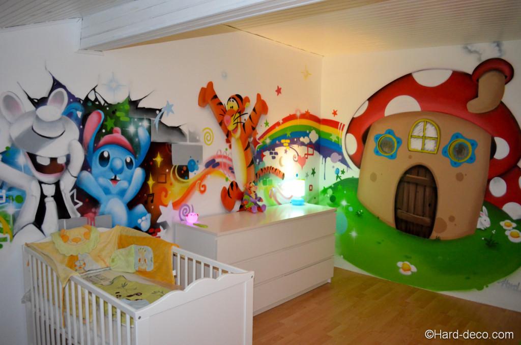 chambre bébé garçon disney