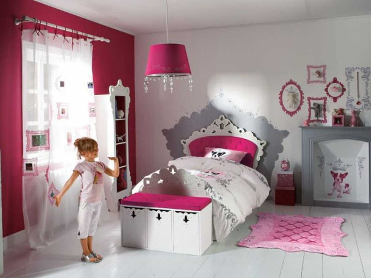 chambre fille 8 ans