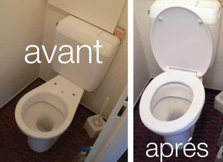 changer cuvette wc