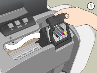 changer encre imprimante epson