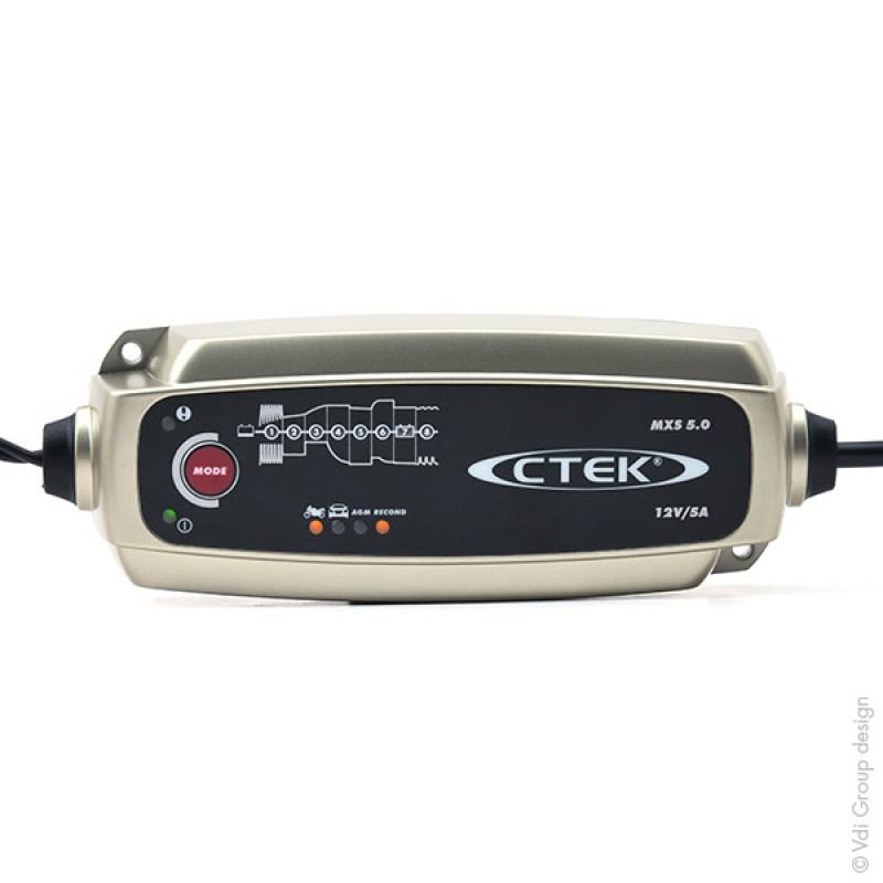 chargeur ctek mxs 5.0