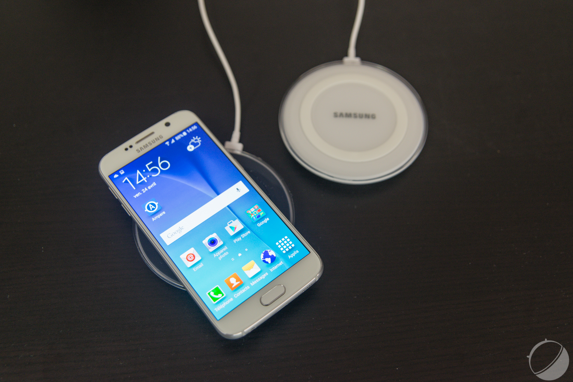 chargeur induction s6
