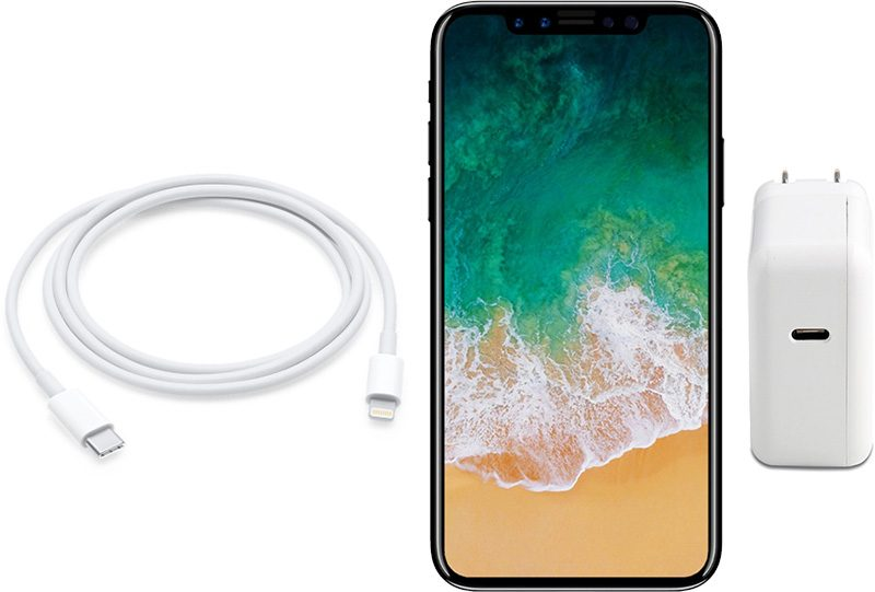chargeur iphone 8