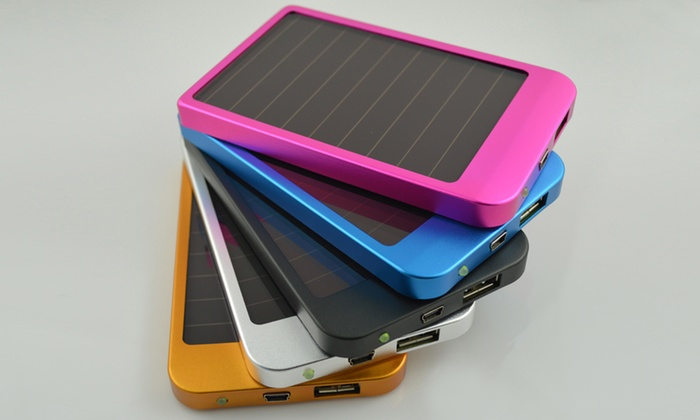 chargeur smartphone solaire