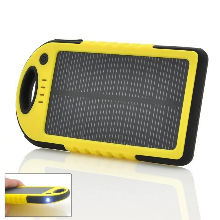chargeur solaire pour portable