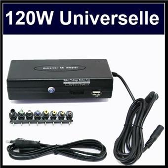 chargeur universel pc portable 120w