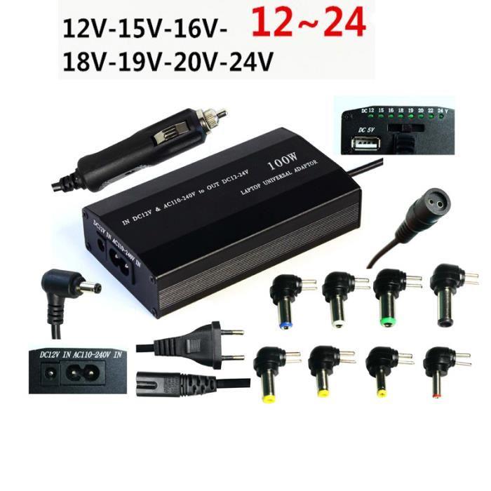 chargeur universel pc portable