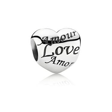 charms pandora amour