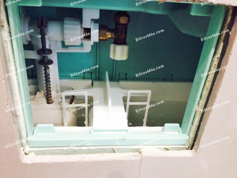 chasse d eau wc suspendu