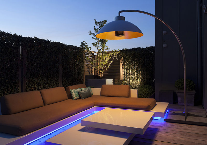 chauffage terrasse design
