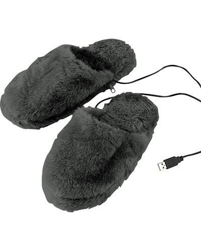 chausson chauffant usb