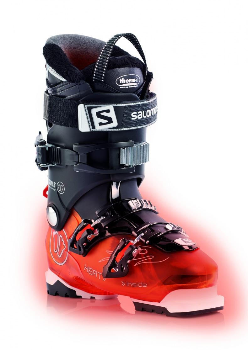 chaussure de ski chauffante