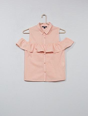 chemise enfant fille