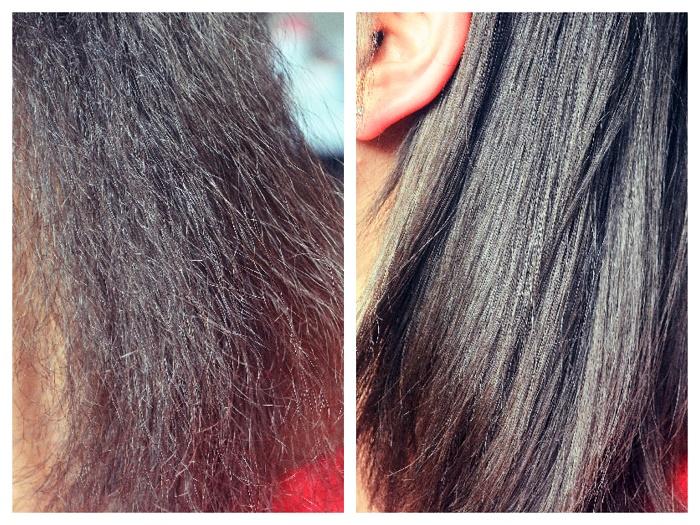 cheveux abimés par le lisseur