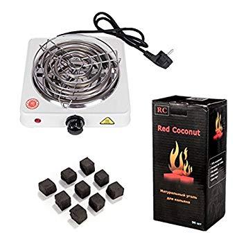 chicha avec charbon barbecue