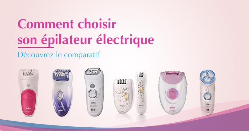 choisir un épilateur électrique