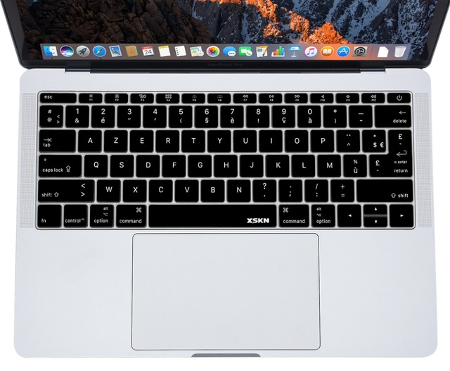 clavier azerty macbook pro