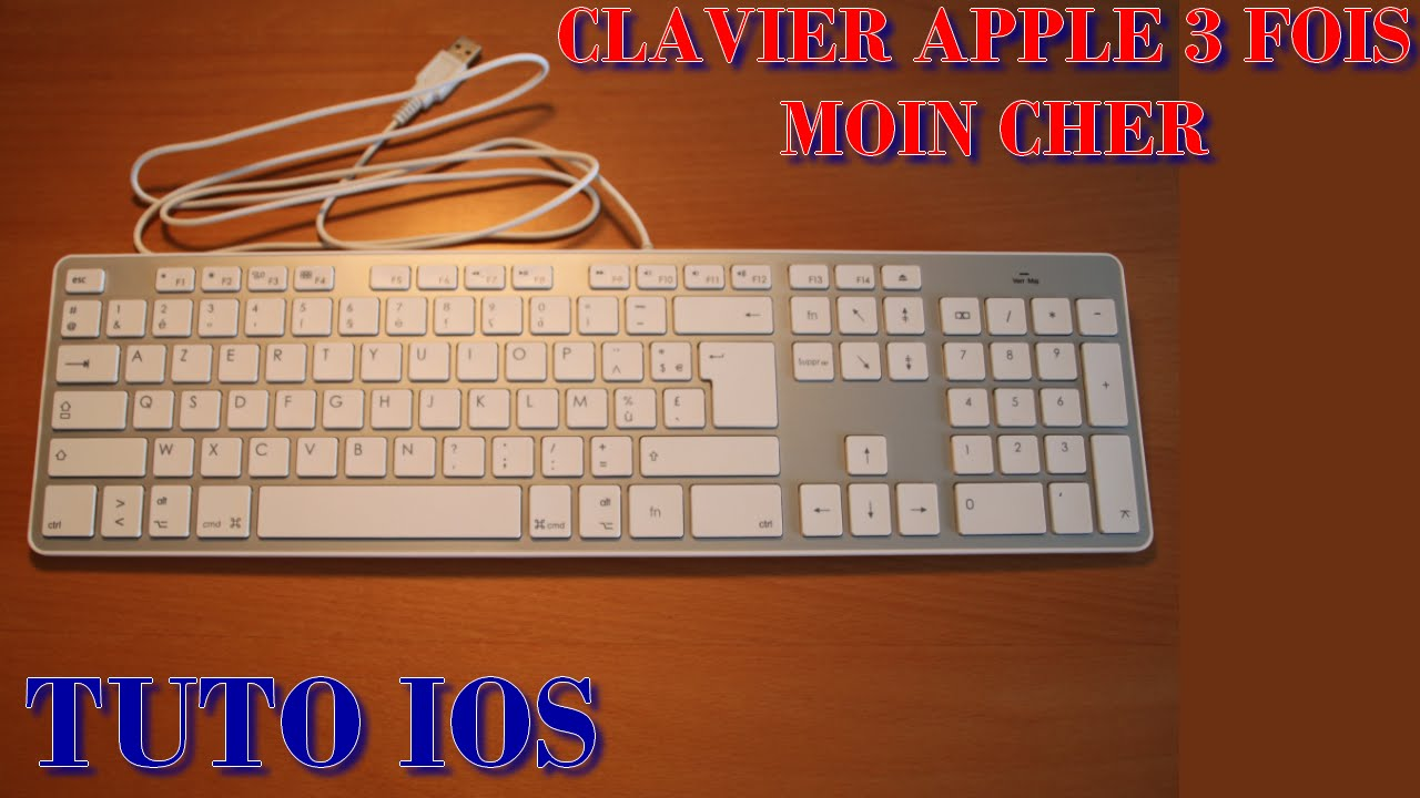 clavier compatible apple