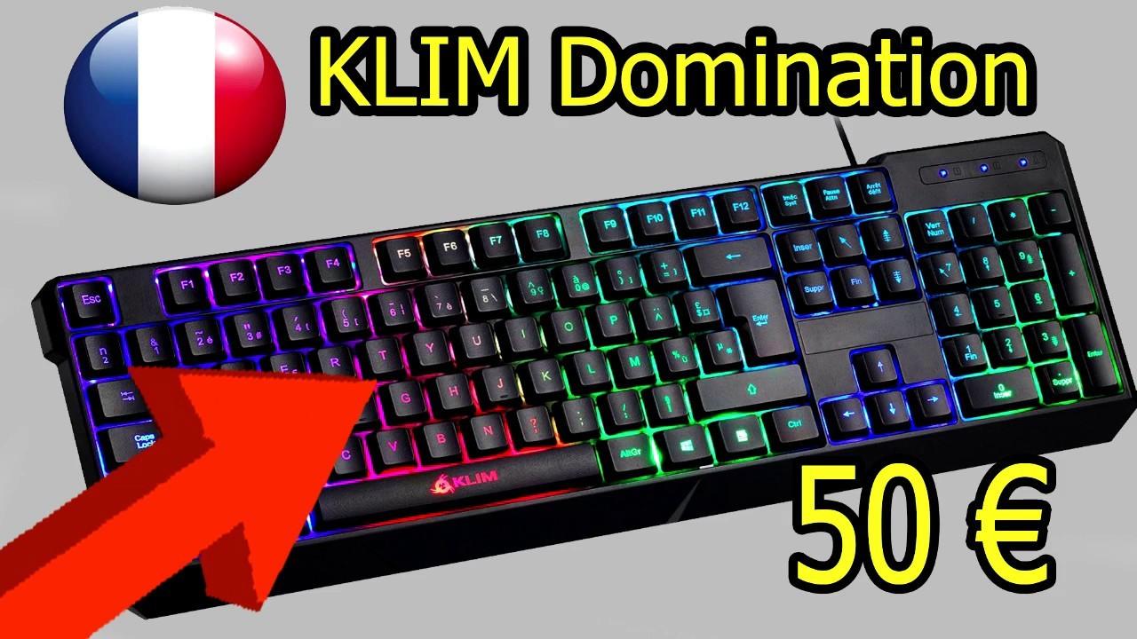 clavier mécanique 50 euros