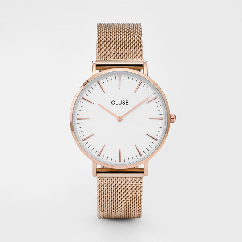 cluse rose gold