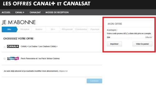 code canal plus gratuit