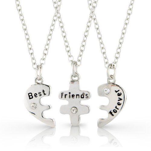 collier best friend pour 3
