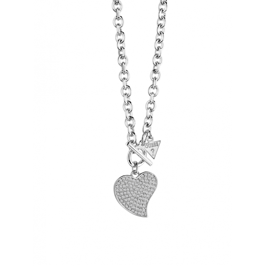 collier guess coeur