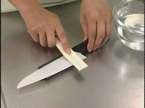 comment aiguiser couteau ceramique