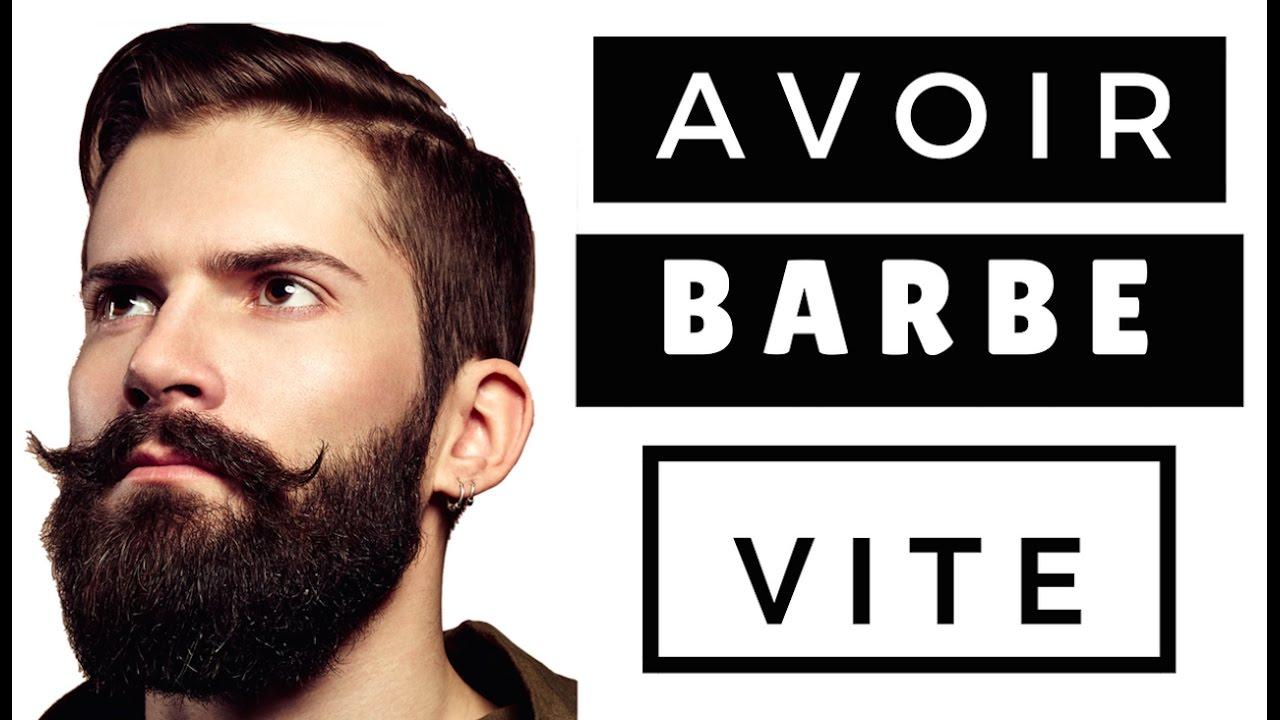 comment avoir la barbe