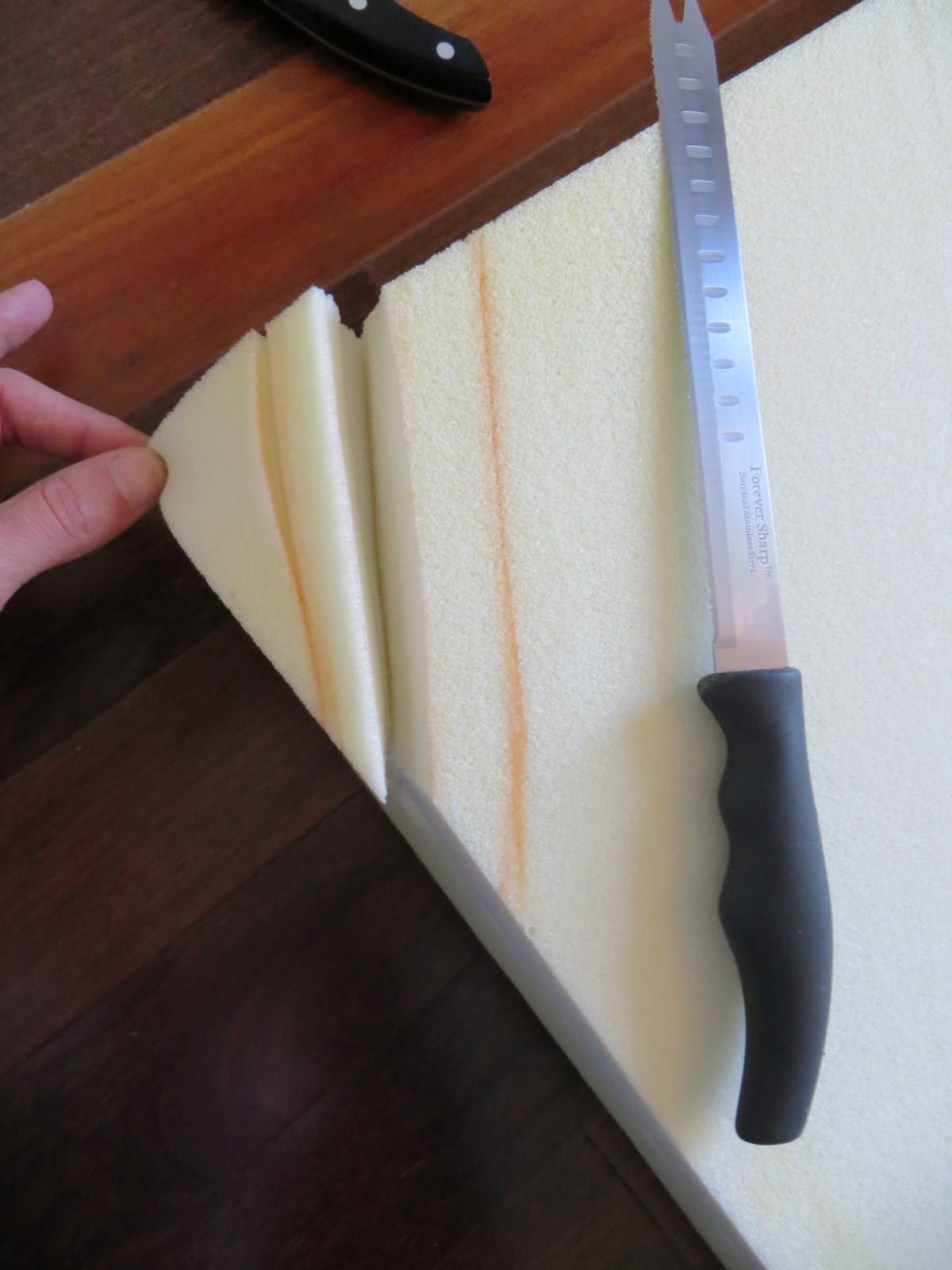 comment couper un matelas