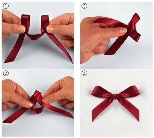 comment faire des noeuds en ruban pour mariage