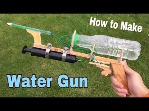 comment faire un pistolet a eau