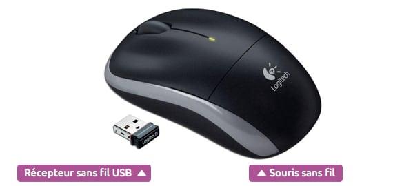 comment fonctionne une souris sans fil